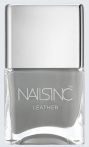 Matte Nail Colours for Spring - NailsInc Leather Effect Nail Polish in Old Compton Street