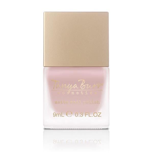 Matte Nail Colours for Spring - Tanya Burr Soft Luxe 'Soft Pyjamas' Nail Polish
